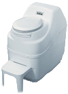 Sun-Mar self contained composting toilet white excel model