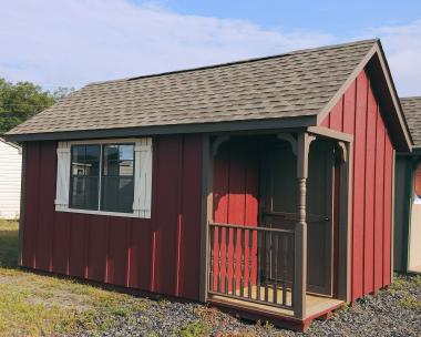 10x16 Cape Cod Shed with Porch